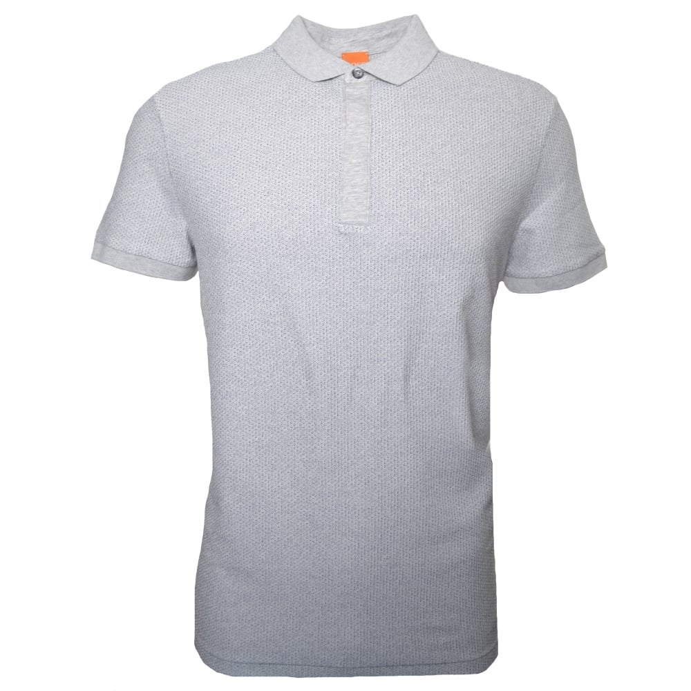 deffe631 Hugo Boss Orange Men's Persys Natural Polo Shirt