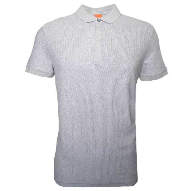 Hugo Boss Orange Men's Persys Natural Polo Shirt