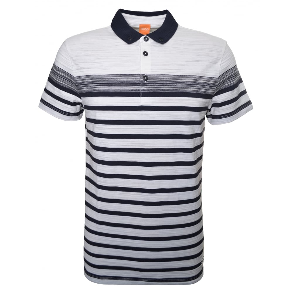 c172cc8c Hugo Boss Orange Men's Regular Fit Natural Promo Polo Shirt