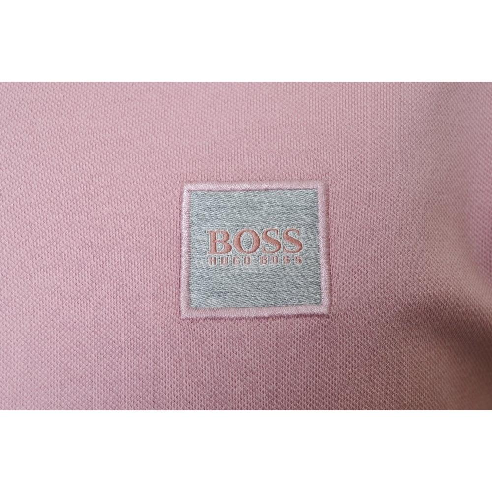e201e947 Hugo Boss Orange Men's Slim Fit Light/Pastel Pink Pavlik Polo