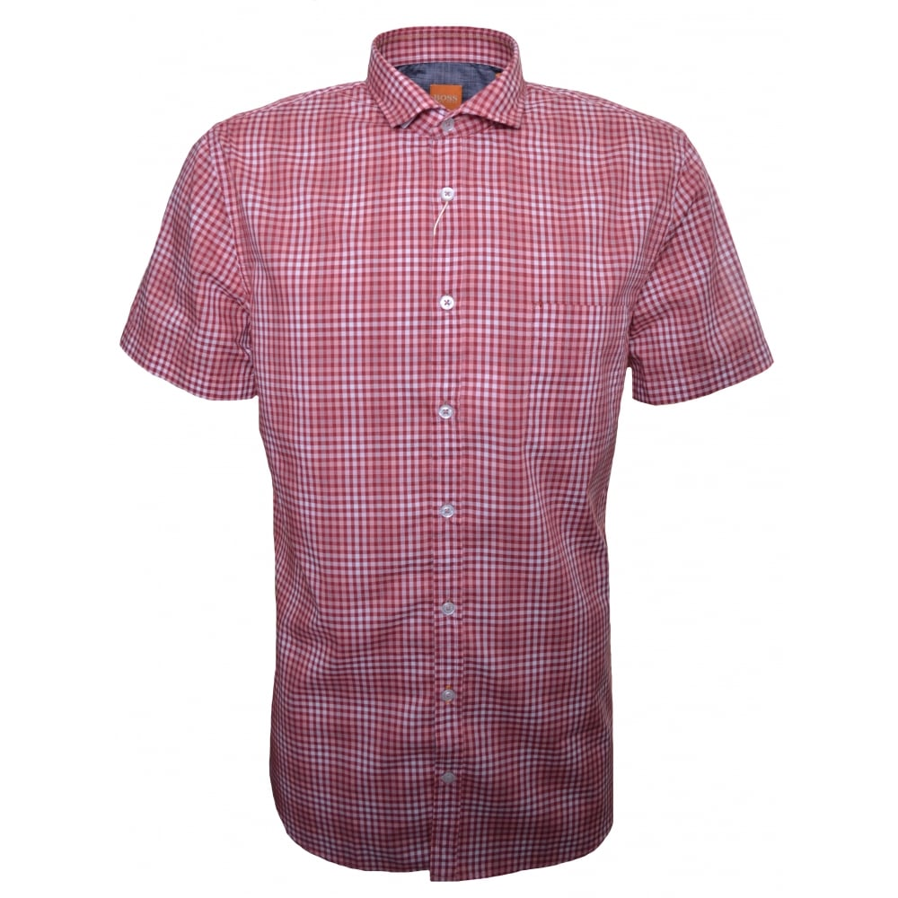 HUGO BOSS Short sleeved shirt hXLKlWtHEy