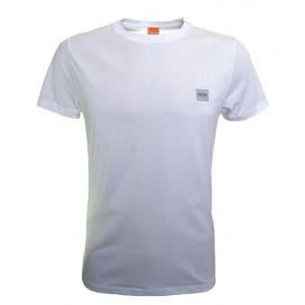 Hugo Boss Orange Men's White Tommi UK T-Shirt