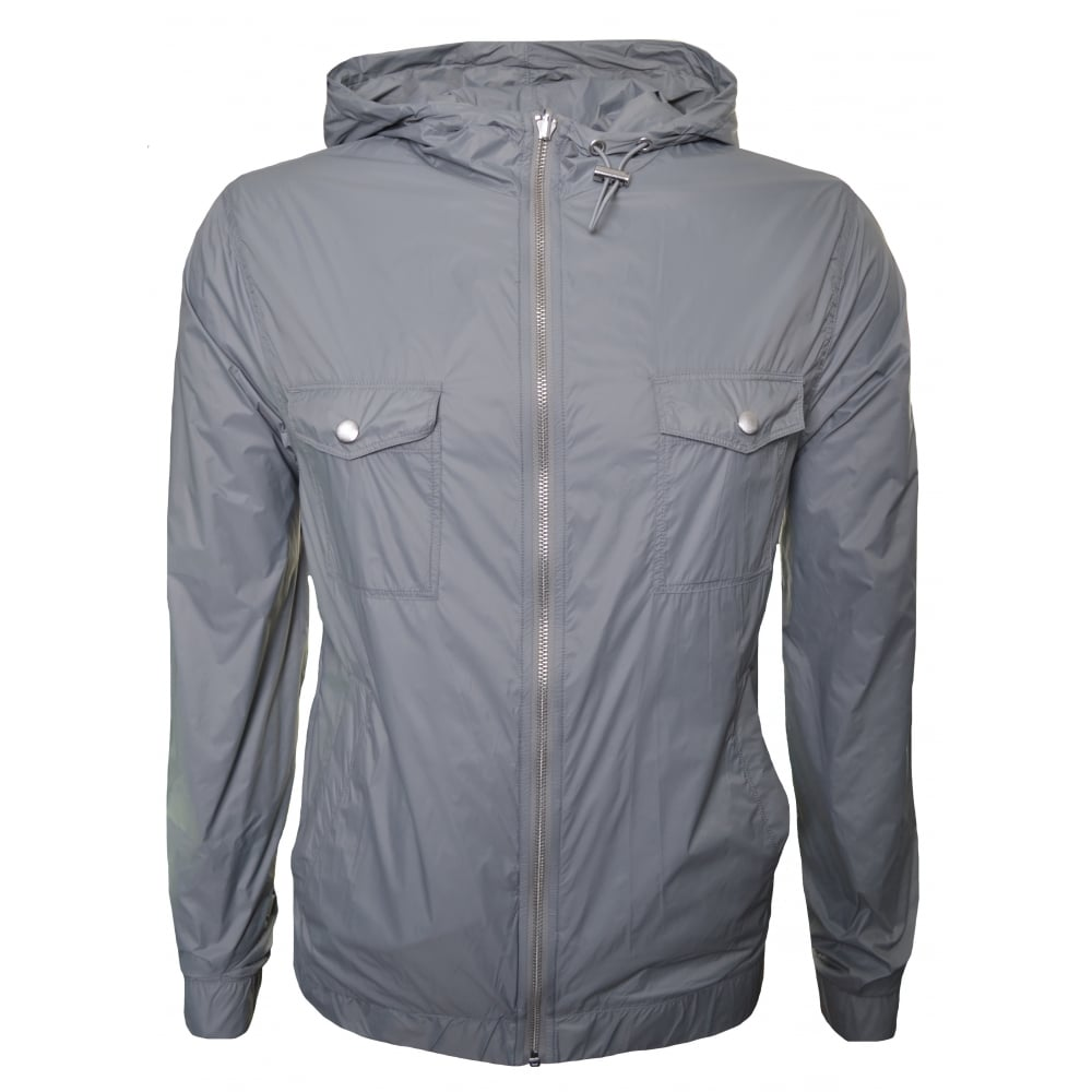 b55e18bab Hugo Boss Orange Men's Zacherias Reversible Light/Pastel Grey Jacket