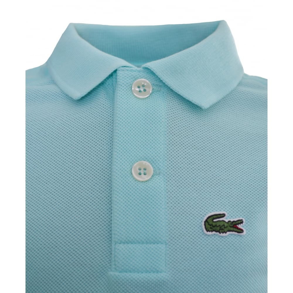 674fb7459 Lacoste Kids Blue/Green Polo Shirt