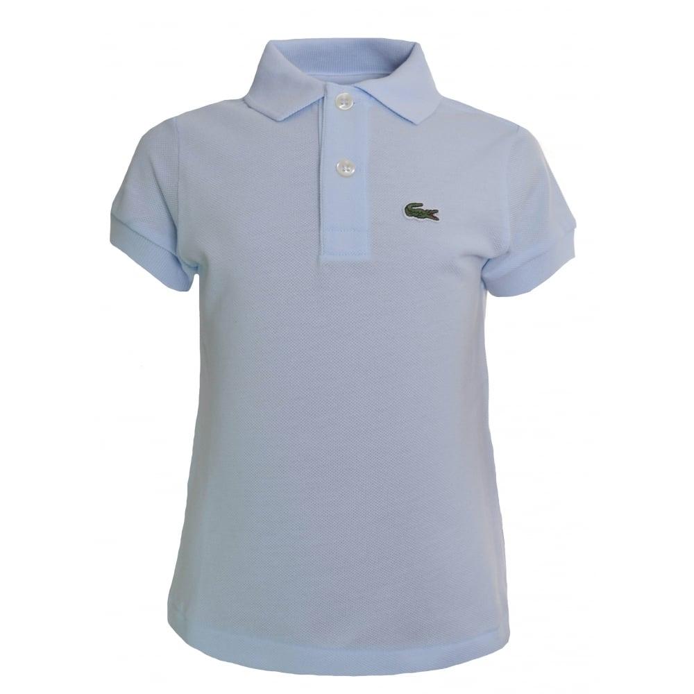 a1538260a Lacoste Kids Light Blue Polo Shirt