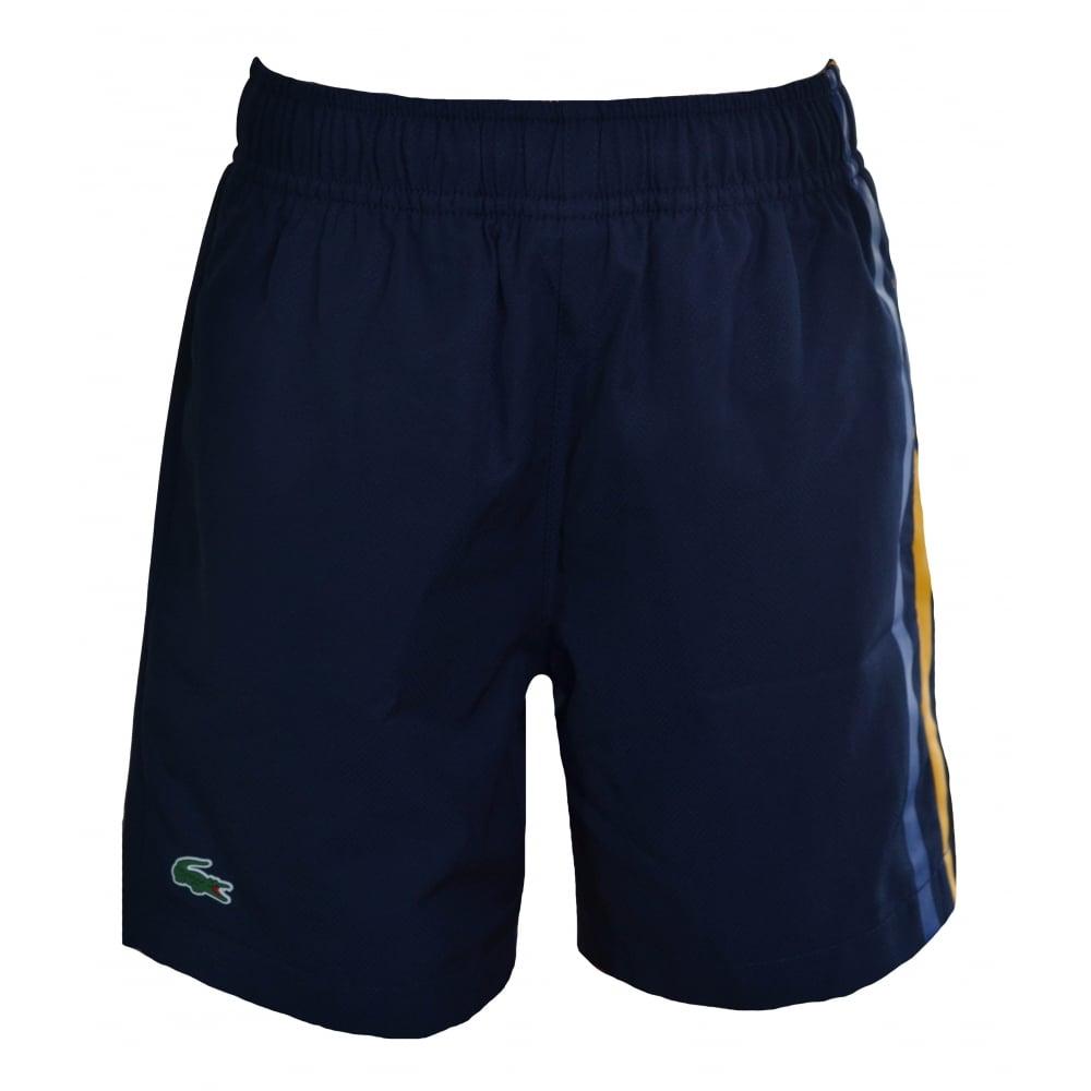 904e35018f lacoste kids navy blue swim shorts