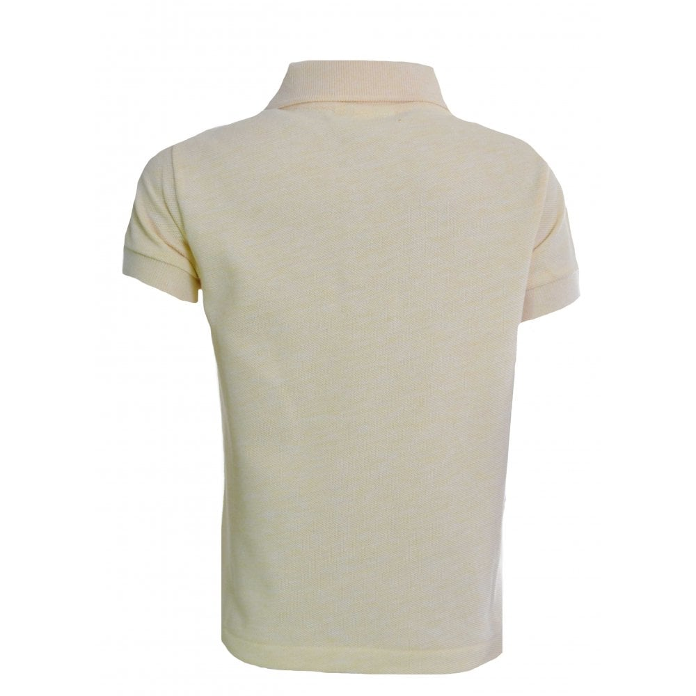 Lacoste Boys Yellow T Shirt
