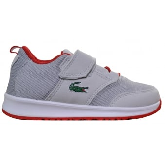 Lacoste Children's Grey L.Ight 177 Trainers