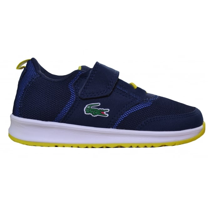 Lacoste footwear Lacoste Children's Navy Blue L.Ight 177 Trainers
