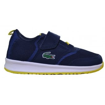 Lacoste Children's Navy Blue L.Ight 177 Trainers