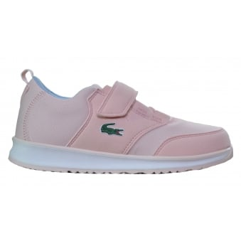 Lacoste Children's Pink L.Ight Trainers