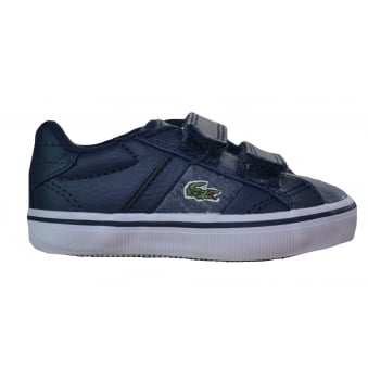 Lacoste Infants And Childrens Dark Blue Fairlead Ww Spc Trainers