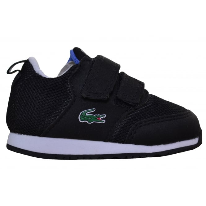 Lacoste footwear Lacoste Infants Black L.Ight 177 Velcro Trainers