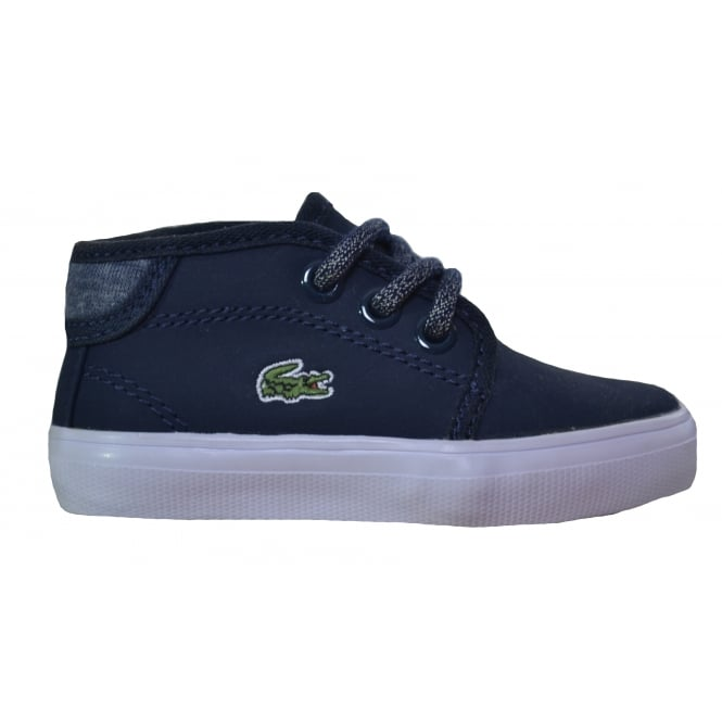 Lacoste footwear Lacoste Infants,Childrens and Juniors Dark Blue Ampthill Chunky Boots
