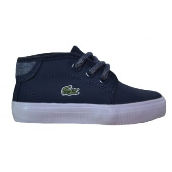 Lacoste Infants,Childrens and Juniors Dark Blue Ampthill Chunky Boots