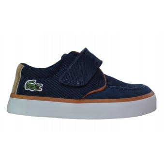 Lacoste Infants Navy Blue Sevrin Shoes
