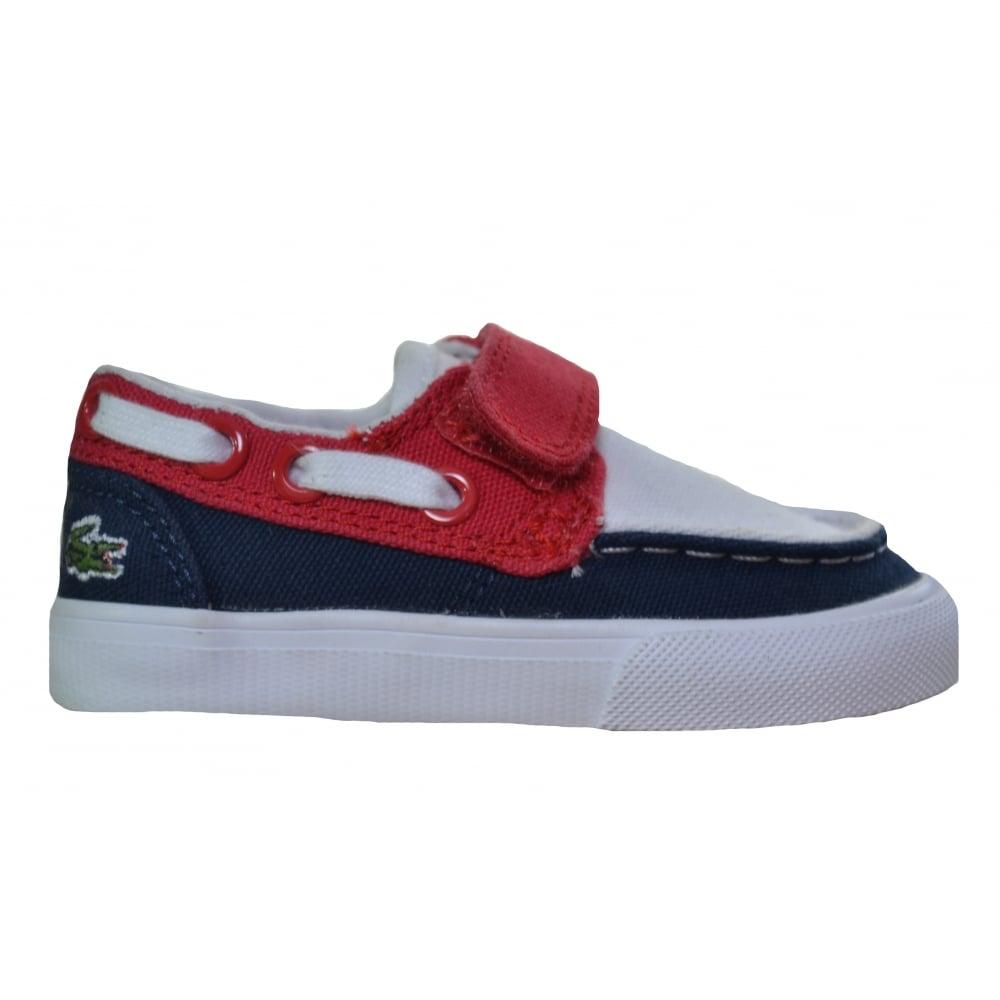 lacoste infants keel boat shoes