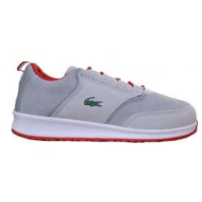581623e5ecc Lacoste Juniors L.ight 117 Grey Trainers