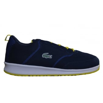 Lacoste Juniors L.ight 117 Navy Blue Trainers