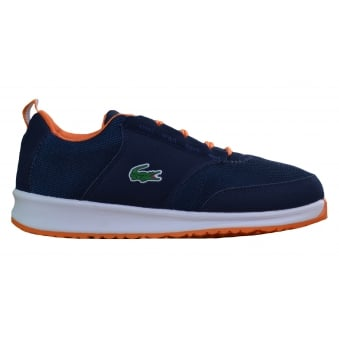 Lacoste Juniors L.ight 217 Navy Blue Trainers