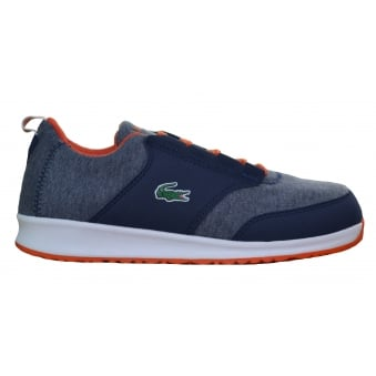 Lacoste Juniors L.ight 416 Navy Blue Trainers