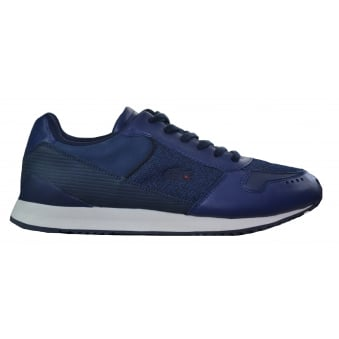 Lacoste Live Men's Trajet LTM LEM Dark Blue Trainers