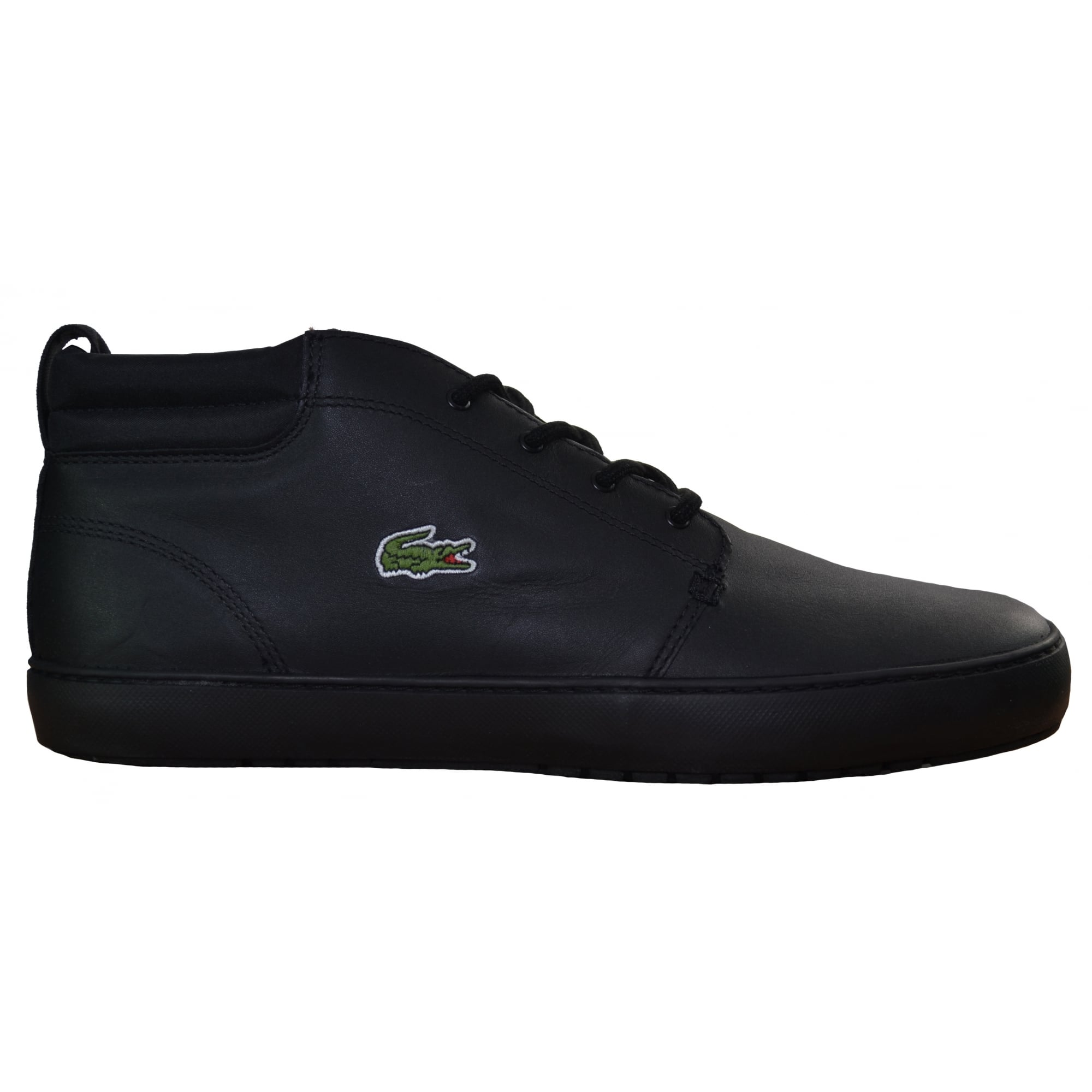 lacoste leather black shoes shopping