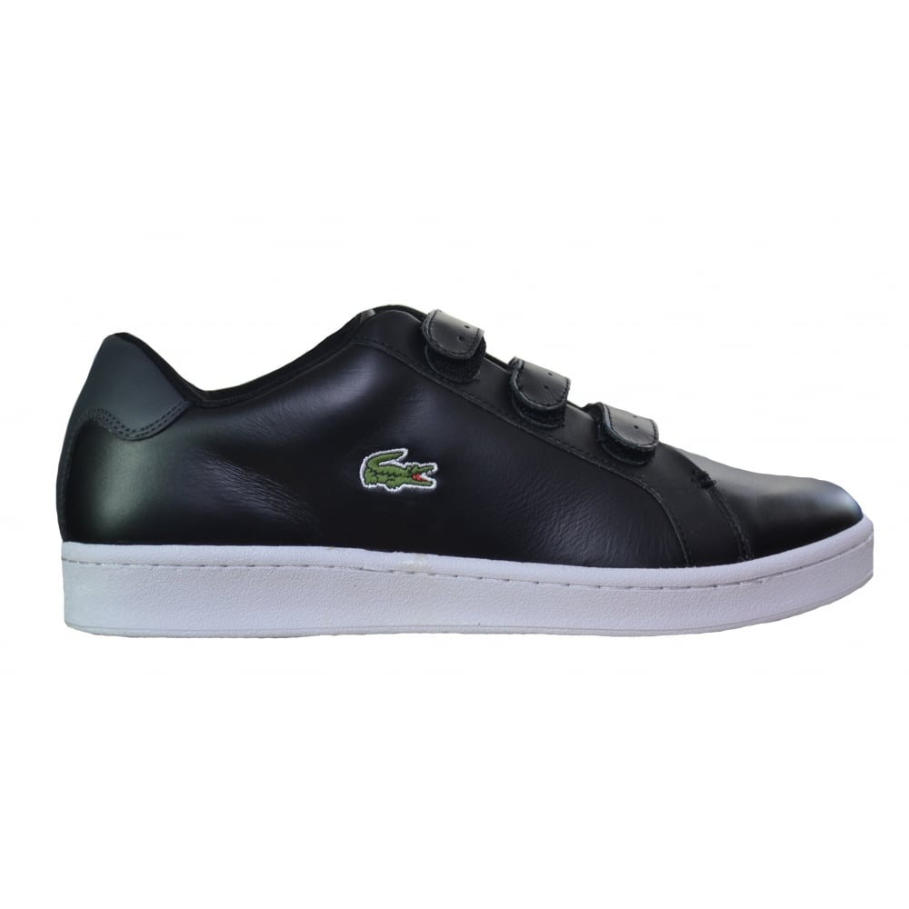 lacoste mens black camden new cup trainers
