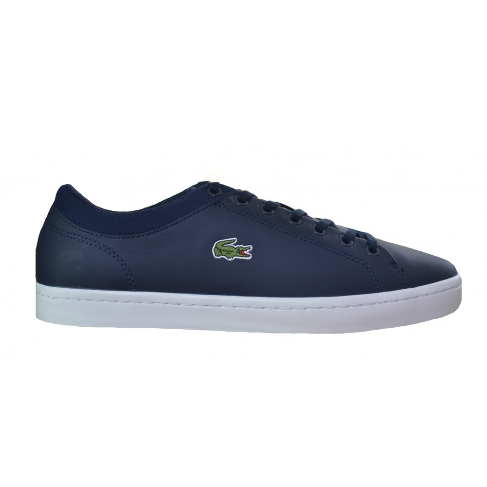 dark blue straightset trainers