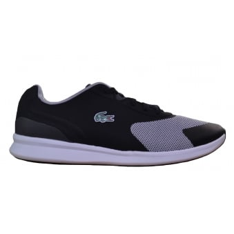 Lacoste Men's Ltr.01 117 Black Trainers