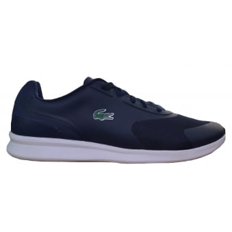 Lacoste Men's Ltr.01 316 Navy Blue Trainers