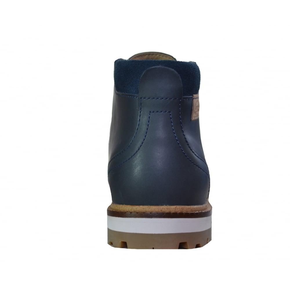 différemment c5e53 3bb79 Lacoste footwear Lacoste Men's Montbard Dark Blue Chukka Boots