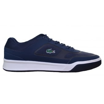 Lacoste Men's Navy Blue Explorateur Sport 117 Trainers