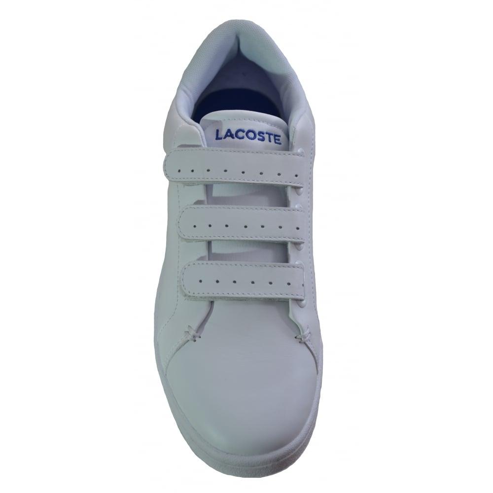 74e572020146 ... Lacoste Men039s White Camden New Cup Trainers ...