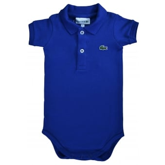 Lacoste Infants Blue Vest With Gift Box