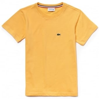 Lacoste Kids Bee Yellow T-Shirt