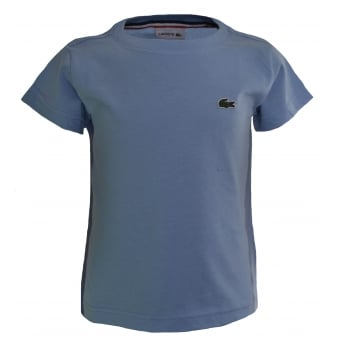 Lacoste Kids Blue Blue T-Shirt