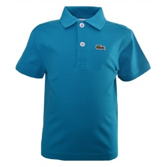 Lacoste Kids Blue Polo Shirt