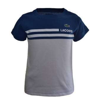 Lacoste Kids Blue T-Shirt