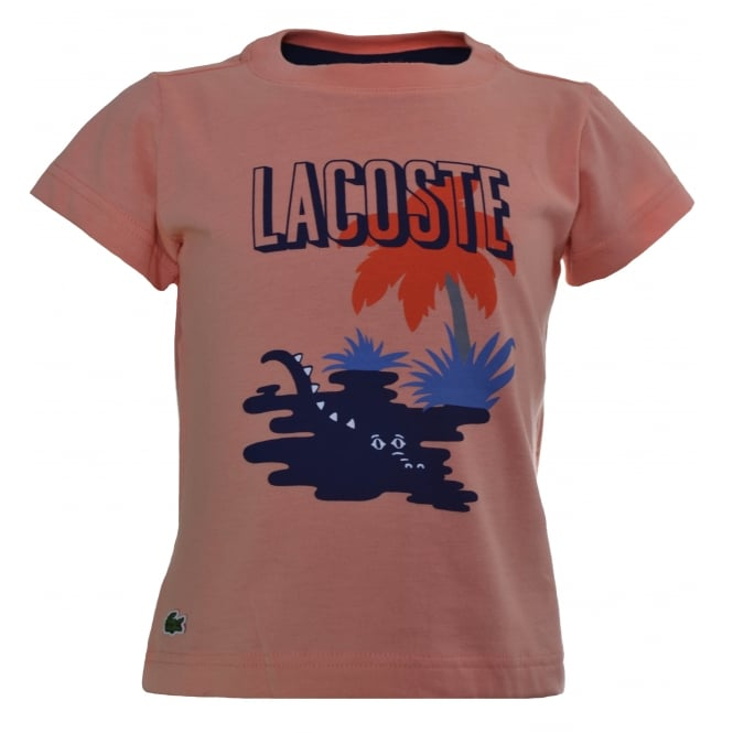 Lacoste Kids Coral T-Shirt