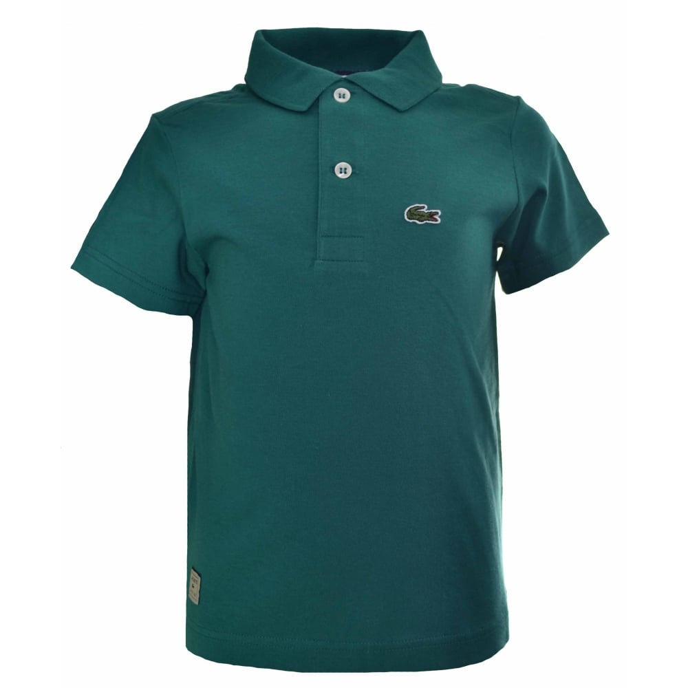 5f1231a69 Lacoste Kids Green Polo Shirt