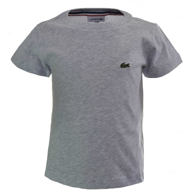Lacoste Kids Grey T-Shirt