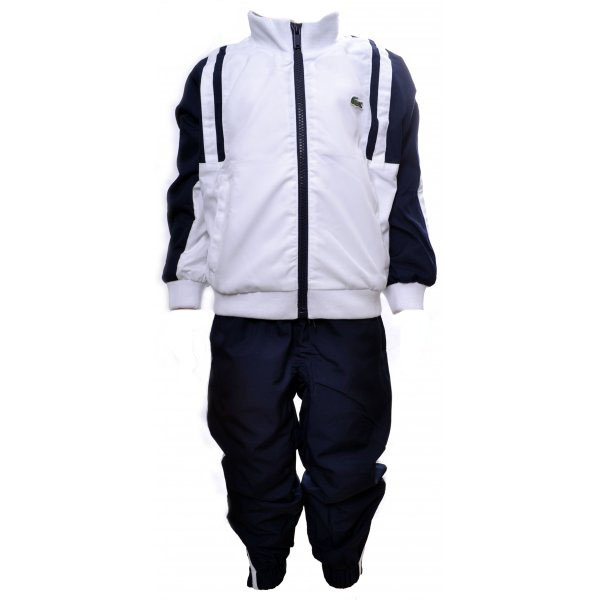 e8fdf3743 Kids Lacoste Navy and White Tracksuit