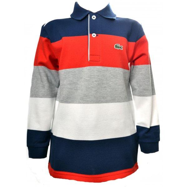 Boys Lacoste Long Sleeve Polo
