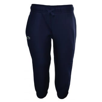 Lacoste Kids Navy Blue Jogging Bottoms