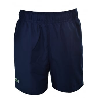 Lacoste Kids Navy Blue Swim Shorts