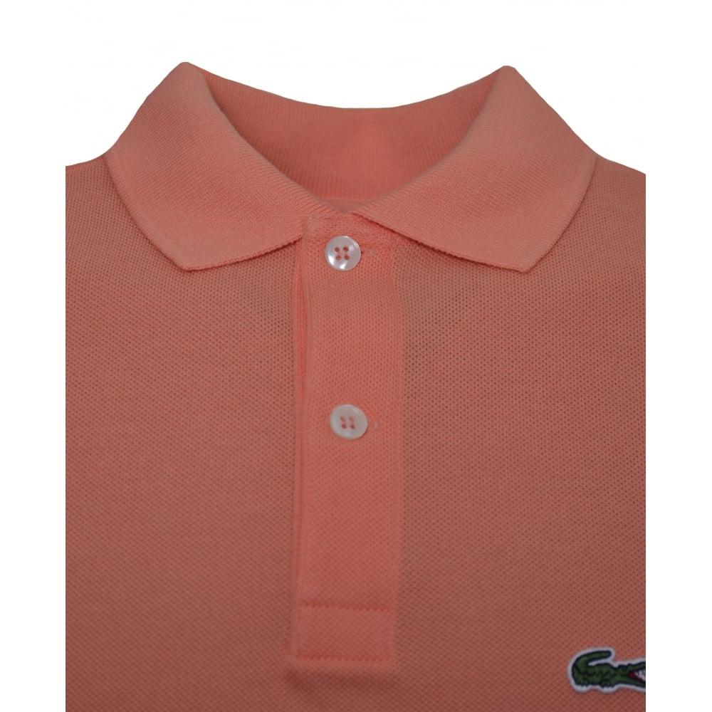 d83eb6e529d5 Lacoste Kids Orange Polo Shirt