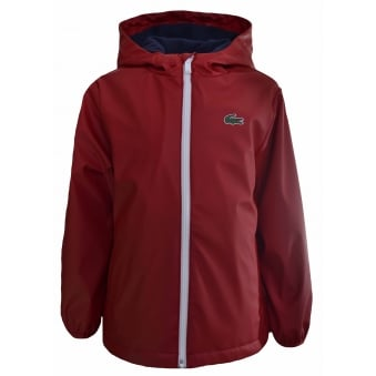 Lacoste Kids Red Jacket