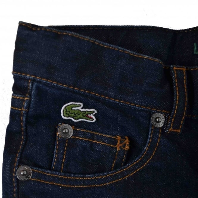 96631262 Lacoste Men's Lacoste Kids Straight Leg Denim Blue Jeans