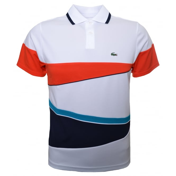 Lacoste Kids White Polo Shirt